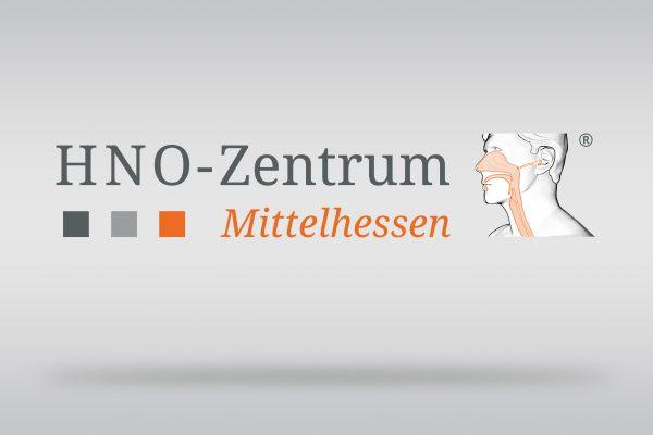 Logodesign HNO-Zentrum Mittelhessen