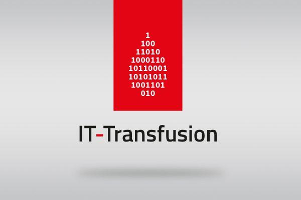 Logodesign für Datenschutz-Startup IT-Transfusion