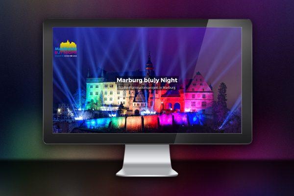 Webdesign zu Marburg b(u)y night