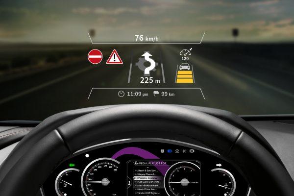 User Interface Design für Spansion mit digitalem Cockpit