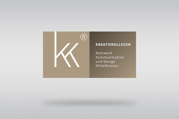 Prägnante Wortbildmarke für alle Medien der Kreativ Kollegen