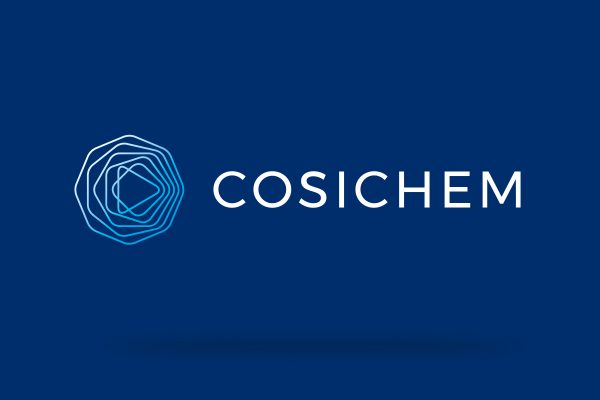 Logo, Marke (Wortbildmarke) und Corporate Design für die Cosichem AG