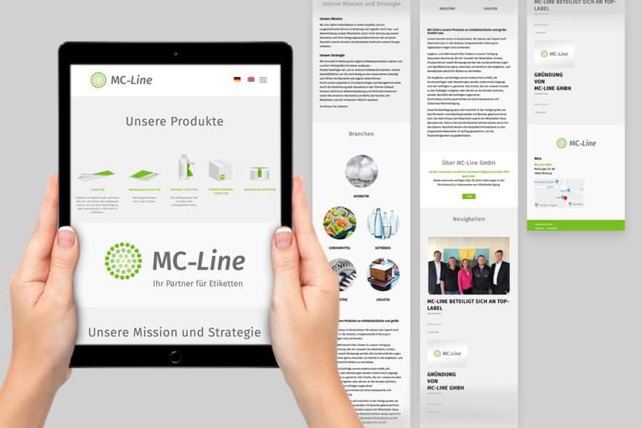 Corporate Design für MC-Line