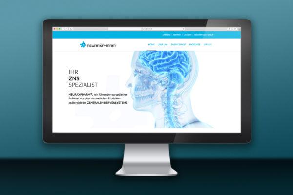 Webdesign für Pharma-Hersteller neuraxpharm in Langenfeld