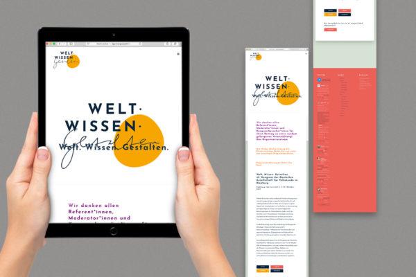Webdesign für dgv-Kongress in Hamburg