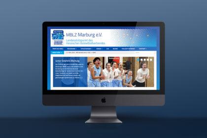 Webdesign und Relaunch für MBLZ Marburg