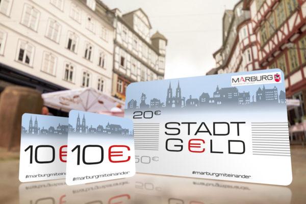 Illustration/ Grafik Design des Stadtgeldes in Marburg