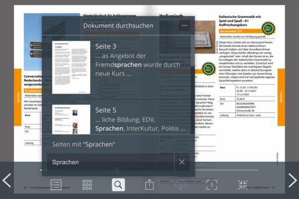 Digitales Bildungsprogramm ePaper Ruhrwerkstatt