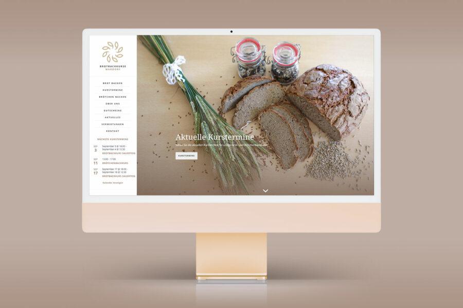 Webdesign Brotbackkurse Mardorf
