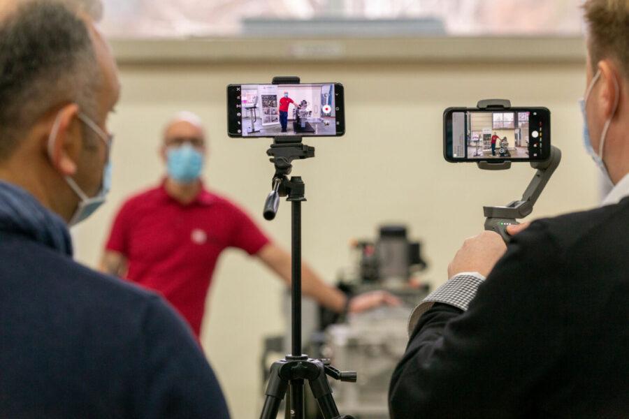 Video-Workshop Aufnahmetechnik